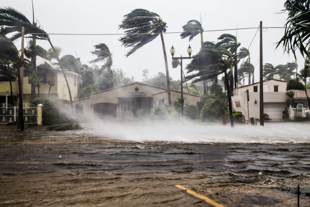Preparing for a water emergency during a hurricane